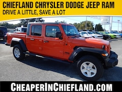 New 2020 Jeep Gladiator SPORT S 4X4 Crew Cab 20G048 1C6JJTAG6LL149571 Chiefland, near Gainesville
