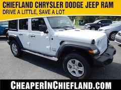 New 2019 Jeep Wrangler UNLIMITED SPORT S 4X4 Sport Utility 19S261 1C4HJXDG9KW610804 Chiefland, near Gainesville