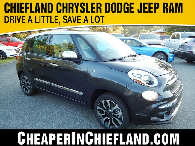 New 2019 FIAT 500L LOUNGE Hatchback 19Y266 ZFBNFACH6KZ042265 Chiefland