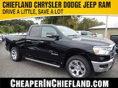 New 2020 Ram 1500 BIG HORN QUAD CAB 4X4 6'4 BOX Quad Cab 20T066 1C6SRFBT3LN192750 Chiefland, near Gainesville