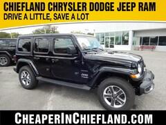 New 2018 Jeep Wrangler UNLIMITED SAHARA 4X4 Sport Utility 18S224 1C4HJXEG6JW174927 Chiefland