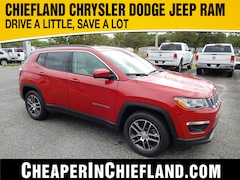 New 2019 Jeep Compass SUN & WHEEL FWD Sport Utility 19E205 3C4NJCBB1KT716043 Chiefland