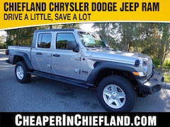 New 2020 Jeep Gladiator SPORT S 4X4 Crew Cab 20G062 1C6HJTAG9LL153418 Chiefland, near Gainesville