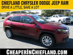 New 2020 Jeep Cherokee LATITUDE FWD Sport Utility 20R090 1C4PJLCB8LD553597 Chiefland, near Gainesville