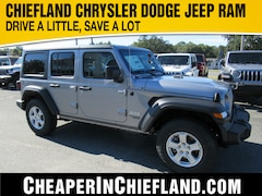 New 2020 Jeep Wrangler UNLIMITED SPORT S 4X4 Sport Utility 20S091 1C4HJXDN4LW188666 Chiefland, near Gainesville