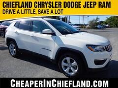 New 2020 Jeep Compass LATITUDE FWD Sport Utility 20E020 3C4NJCBB6LT108455 Chiefland, near Gainesville