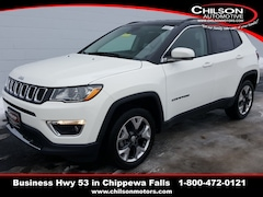 New 2019 Jeep Compass LIMITED 4X4 Sport Utility 3C4NJDCB5KT697680 for sale near Eau Claire at Chilson Chrysler Dodge Jeep Ram FIAT