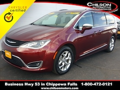 Certified 2017 Chrysler Pacifica Limited Minivan/Van 2C4RC1GG4HR854837 for sale near Eau Claire