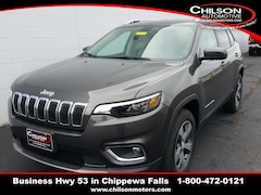 new 2019 Jeep Cherokee LIMITED 4X4 Sport Utility 1C4PJMDX9KD476494 for sale near Eau Claire at Chilson Chrysler Dodge Jeep Ram FIAT