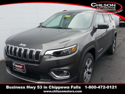 New 2019 Jeep Cherokee LIMITED 4X4 for sale near Eau Claire
