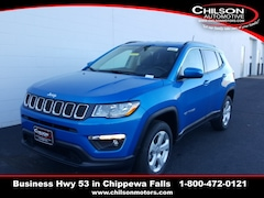 new 2020 Jeep Compass LATITUDE 4X4 Sport Utility 3C4NJDBB4LT147017 for sale near Eau Claire at Chilson Chrysler Dodge Jeep Ram FIAT