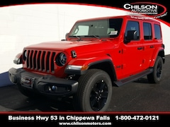 new 2020 Jeep Wrangler UNLIMITED SAHARA ALTITUDE 4X4 Sport Utility for sale near Eau Claire at Chilson Chrysler Dodge Jeep Ram FIAT