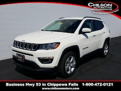 new 2019 Jeep Compass LATITUDE 4X4 Sport Utility 3C4NJDBBXKT818351 for sale near Eau Claire at Chilson Chrysler Dodge Jeep Ram FIAT