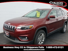 new 2019 Jeep Cherokee LATITUDE PLUS 4X4 Sport Utility 1C4PJMLX9KD398929 for sale near Eau Claire at Chilson Chrysler Dodge Jeep Ram FIAT