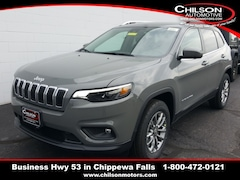 new 2020 Jeep Cherokee LATITUDE LUX 4X4 Sport Utility for sale near Eau Claire at Chilson Chrysler Dodge Jeep Ram FIAT