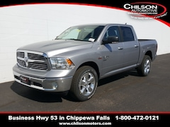 new 2019 Ram 1500 Classic BIG HORN CREW CAB 4X4 5'7 BOX Crew Cab 1C6RR7LT4KS639542 for sale near Eau Claire at Chilson Chrysler Dodge Jeep Ram FIAT