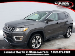 New 2019 Jeep Compass LIMITED 4X4 Sport Utility 3C4NJDCB9KT697679 for sale near Eau Claire at Chilson Chrysler Dodge Jeep Ram FIAT