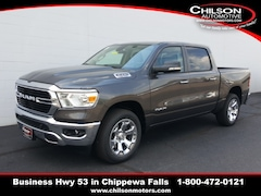 new 2019 Ram All-New 1500 BIG HORN / LONE STAR CREW CAB 4X4 5'7 BOX Crew Cab 1C6SRFFT5KN911747 for sale near Eau Claire at Chilson Chrysler Dodge Jeep Ram FIAT