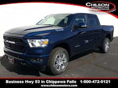new 2019 Ram All-New 1500 BIG HORN / LONE STAR CREW CAB 4X4 5'7 BOX Crew Cab 1C6SRFFT9KN911749 for sale near Eau Claire at Chilson Chrysler Dodge Jeep Ram FIAT