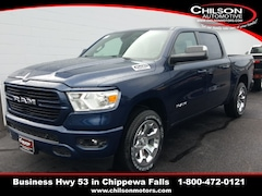 new 2019 Ram All-New 1500 BIG HORN / LONE STAR CREW CAB 4X4 5'7 BOX Crew Cab 1C6SRFFT1KN879881 for sale near Eau Claire at Chilson Chrysler Dodge Jeep Ram FIAT