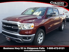 new 2020 Ram 1500 BIG HORN CREW CAB 4X4 5'7 BOX Crew Cab for sale near Eau Claire at Chilson Chrysler Dodge Jeep Ram FIAT