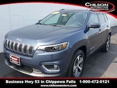 New 2020 Jeep Cherokee LIMITED 4X4 Sport Utility 1C4PJMDX6LD640883 for sale in Chippewa Falls, WI