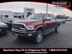 new 2018 Ram 2500 LARAMIE LONGHORN CREW CAB 4X4 6'4 BOX Crew Cab 3C6UR5GJ0JG370937 for sale near Eau Claire at Chilson Chrysler Dodge Jeep Ram FIAT