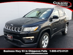 new 2019 Jeep Compass LATITUDE 4X4 Sport Utility 3C4NJDBB8KT846617 for sale near Eau Claire at Chilson Chrysler Dodge Jeep Ram FIAT
