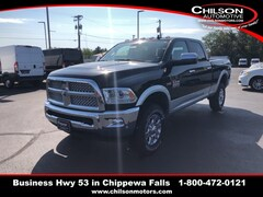 New 2018 Ram 2500 LARAMIE CREW CAB 4X4 6'4 BOX Crew Cab 3C6UR5FJ3JG258148 for sale near Eau Claire at Chilson Chrysler Dodge Jeep Ram FIAT