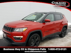 New 2019 Jeep Compass ALTITUDE 4X4 Sport Utility 3C4NJDBB1KT697676 for sale near Eau Claire at Chilson Chrysler Dodge Jeep Ram FIAT