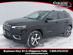 New 2019 Jeep Cherokee LIMITED 4X4 Sport Utility 1C4PJMDXXKD372838 for sale near Eau Claire at Chilson Chrysler Dodge Jeep Ram FIAT