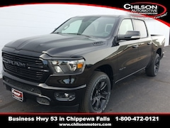 new 2020 Ram 1500 BIG HORN CREW CAB 4X4 5'7 BOX Crew Cab 1C6SRFFT3LN106704 for sale near Eau Claire at Chilson Chrysler Dodge Jeep Ram FIAT