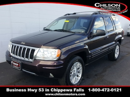 Used 2004 Jeep Grand Cherokee Limited For Sale near Eau Claire WI |  1J8GW58NX4C109718