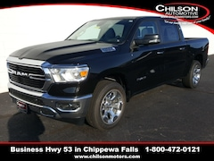 new 2020 Ram 1500 BIG HORN CREW CAB 4X4 5'7 BOX Crew Cab 1C6SRFFT0LN132581 for sale near Eau Claire at Chilson Chrysler Dodge Jeep Ram FIAT