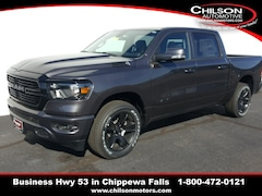new 2020 Ram 1500 BIG HORN CREW CAB 4X4 5'7 BOX Crew Cab 1C6SRFFT0LN140003 for sale near Eau Claire at Chilson Chrysler Dodge Jeep Ram FIAT