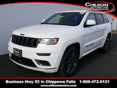 new 2020 Jeep Grand Cherokee HIGH ALTITUDE 4X4 Sport Utility 1C4RJFCT8LC208028 for sale near Eau Claire at Chilson Chrysler Dodge Jeep Ram FIAT