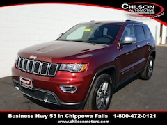 new 2020 Jeep Grand Cherokee LIMITED 4X4 Sport Utility 1C4RJFBG8LC101839 for sale near Eau Claire at Chilson Chrysler Dodge Jeep Ram FIAT