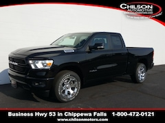 new 2019 Ram All-New 1500 BIG HORN / LONE STAR QUAD CAB 4X4 6'4 BOX Quad Cab 1C6SRFBT8KN913451 for sale near Eau Claire at Chilson Chrysler Dodge Jeep Ram FIAT