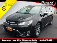 Certified 2017 Chrysler Pacifica Limited Minivan/Van 2C4RC1GG6HR570836 for sale near Eau Claire