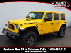 New 2019 Jeep Wrangler UNLIMITED RUBICON 4X4 Sport Utility 1C4HJXFG0KW581593 for sale near Eau Claire at Chilson Chrysler Dodge Jeep Ram FIAT