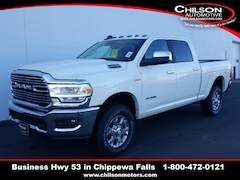 new 2019 Ram 2500 LARAMIE CREW CAB 4X4 6'4 BOX Crew Cab 3C6UR5FJ5KG640005 for sale near Eau Claire at Chilson Chrysler Dodge Jeep Ram FIAT