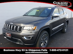 new 2020 Jeep Grand Cherokee LIMITED 4X4 Sport Utility 1C4RJFBG9LC189896 for sale near Eau Claire at Chilson Chrysler Dodge Jeep Ram FIAT