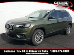 new 2020 Jeep Cherokee LATITUDE LUX 4X4 Sport Utility 1C4PJMLX5LD631190 for sale near Eau Claire at Chilson Chrysler Dodge Jeep Ram FIAT