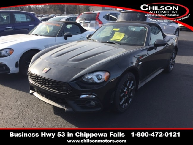 New 2018 FIAT 124 Spider ABARTH for sale near Eau Claire ...