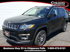 new 2019 Jeep Compass LATITUDE 4X4 Sport Utility 3C4NJDBB2KT813516 for sale near Eau Claire at Chilson Chrysler Dodge Jeep Ram FIAT