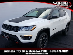 new 2019 Jeep Compass Trailhawk SUV 3C4NJDDB0KT846415 for sale near Eau Claire at Chilson Chrysler Dodge Jeep Ram FIAT