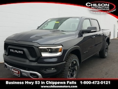 new 2020 Ram 1500 REBEL CREW CAB 4X4 5'7 BOX Crew Cab 1C6SRFLT5LN212978 for sale near Eau Claire at Chilson Chrysler Dodge Jeep Ram FIAT
