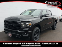 new 2020 Ram 1500 BIG HORN CREW CAB 4X4 5'7 BOX Crew Cab 1C6SRFFT1LN291982 for sale near Eau Claire at Chilson Chrysler Dodge Jeep Ram FIAT