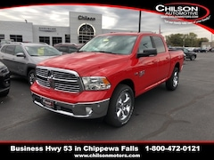 new 2019 Ram 1500 Classic BIG HORN CREW CAB 4X4 5'7 BOX Crew Cab 1C6RR7LT3KS557270 for sale near Eau Claire at Chilson Chrysler Dodge Jeep Ram FIAT