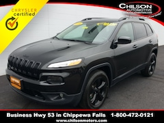 2016 Jeep Cherokee High Altitude SUV for sale at Chilson Chrysler Dodge Jeep near Eau Claire, WI